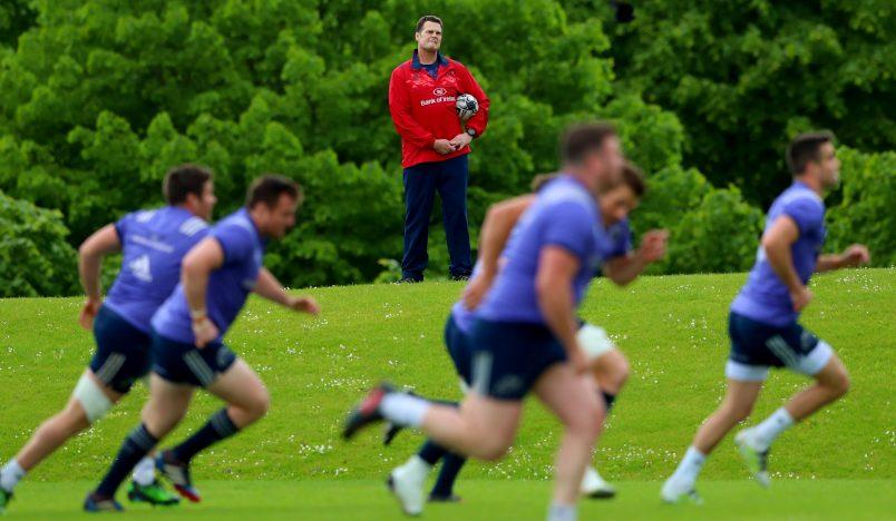 Overseeing it all, Director of Rugby Rassie Erasmus.