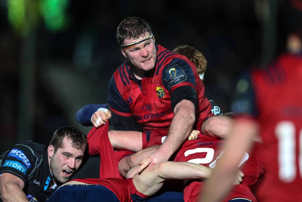 Donnacha Ryan will lineout for Munster at Thomond Park for the final time tomorrow.