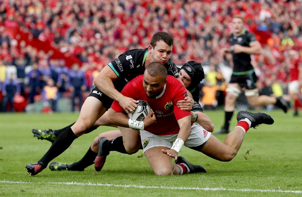 Earls, Saili, Murray and Conway all combined before Simon Zebo finished off the scintillating try.