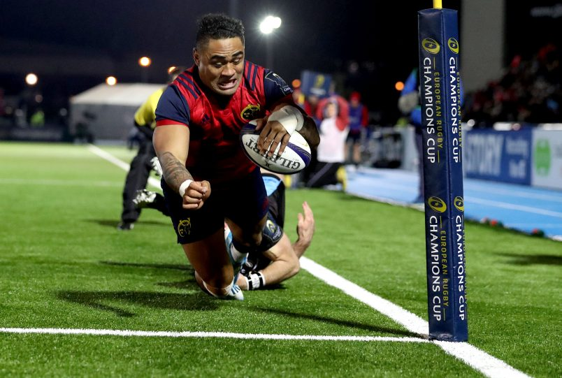 A late Francis Saili try away to Glasgow Warriors saw Munster return to European knock-out rugby for their first time in three seasons.