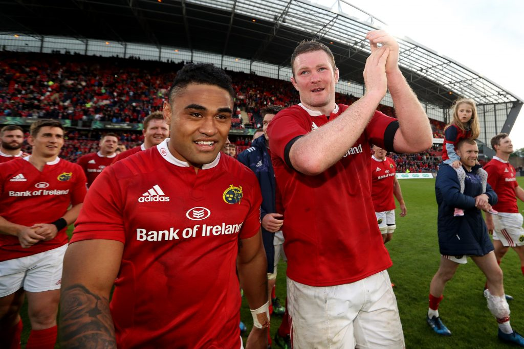 Munster defeat Ospreys 23-3 to book their place in the Guinness PRO12 Final. Francis Saili and second row stalwart Donnacha Ryan bid farewell to the Thomond Park faithful following their final appearances there in a Munster jersey.