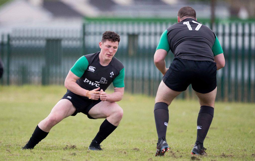 Munster sub-Academy player Colm Hogan will start for Ireland tomorrow.