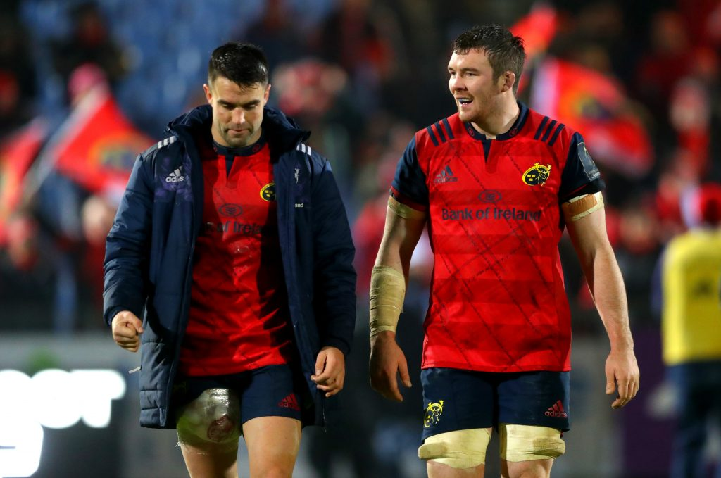 Munster, Ireland and Lions duo Conor Murray and Peter O'Mahony.