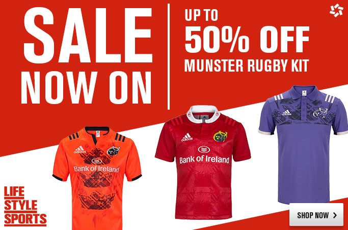 93a57bd3f Munster Rugby   Life Style Sports Sale