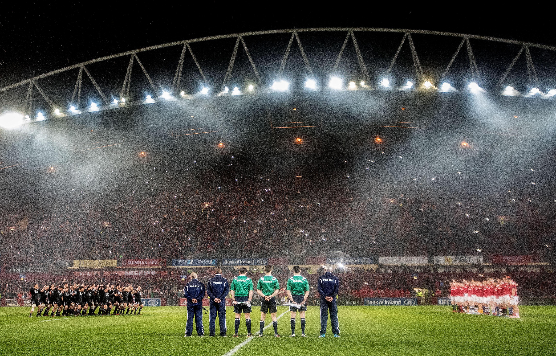Munster Rugby The Maori All Blacks Perform The Haka 11 11 2016