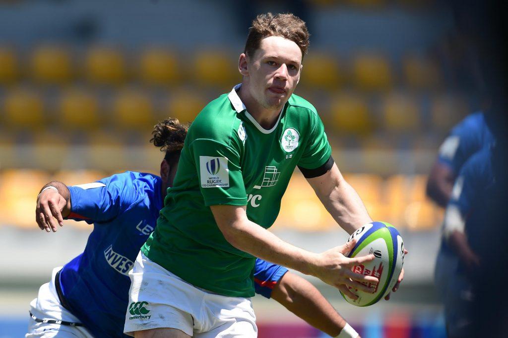 Munster and Ireland U20s' Alan Tynan will start at fullback against Georgia.