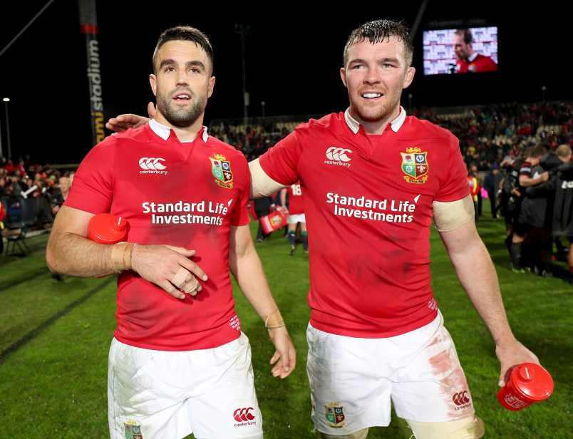 Munster, Ireland and Lions duo Conor Murray and Peter O