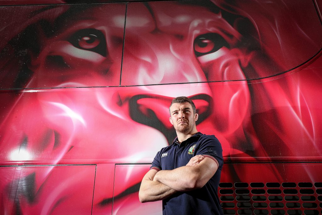 Munster and Lions captain Peter O'Mahony.