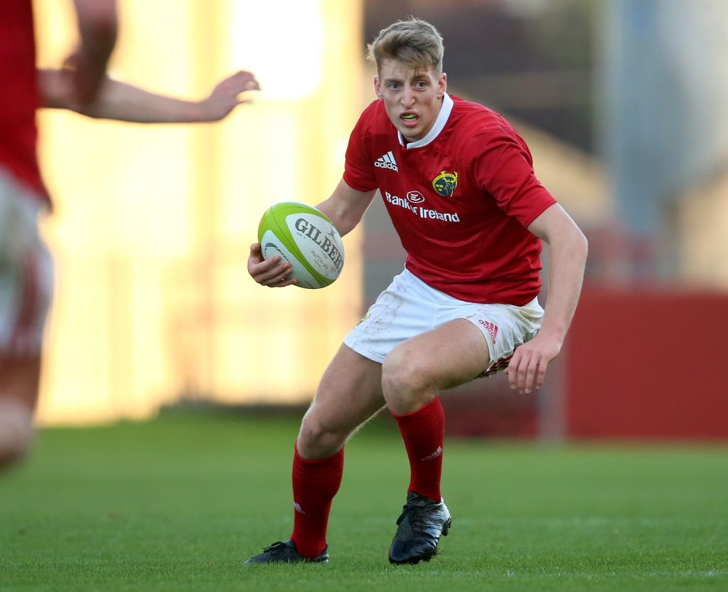 Liam Coombes joins his cousin Gavin Coombes in the Munster Rugby Academy.