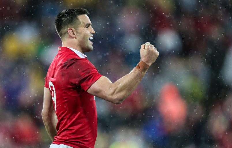Munster, Ireland and Lions scrum half Conor Murray.