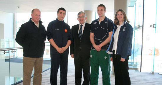 Declan Kidney lends his support to the U18 Six Nations Festival