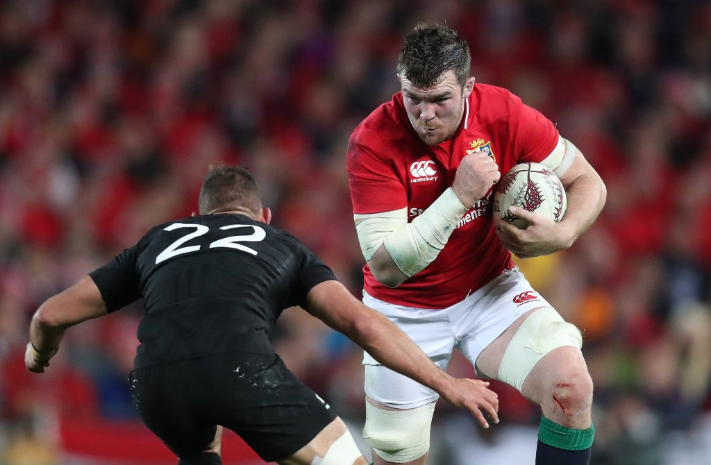 Munster's Peter O'Mahony led the Lions in the opening Test of the Series.