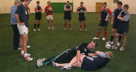 Munster Rugby Academy Skills Session