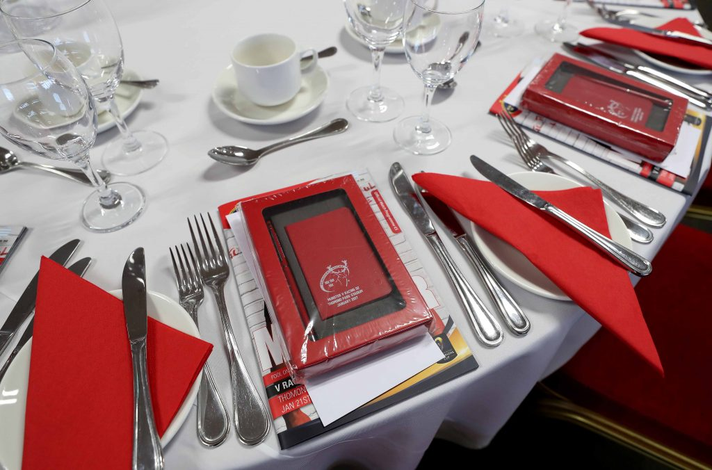 Enjoy Munster Rugby's top class hospitality offering at the Strand Hotel.