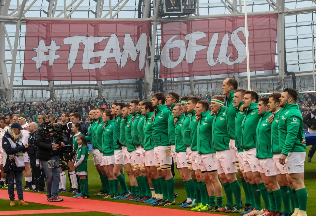 Ireland will play South Africa, Fiji and Argentina in the 2017 Guinness Series. Mandatory Credit ©INPHO/Billy Stickland