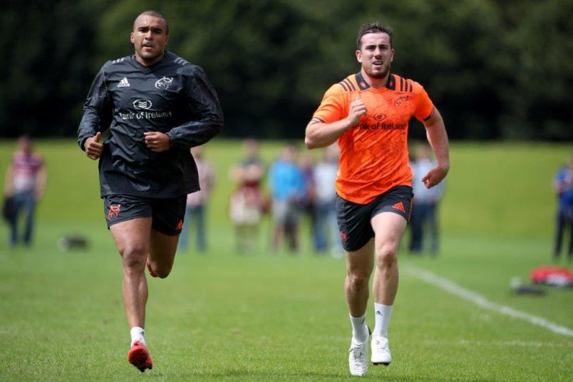 Simon Zebo and JJ Hanrahan continue to step up their involvement in preseason.