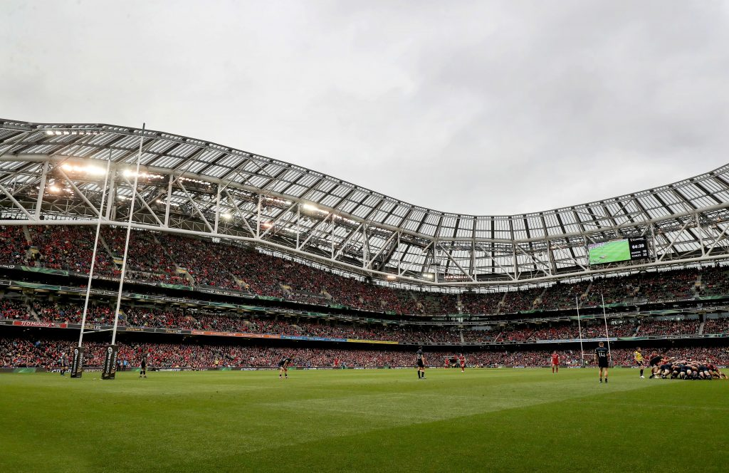A shot of the Championship Final at the Aviva Stadium last May.