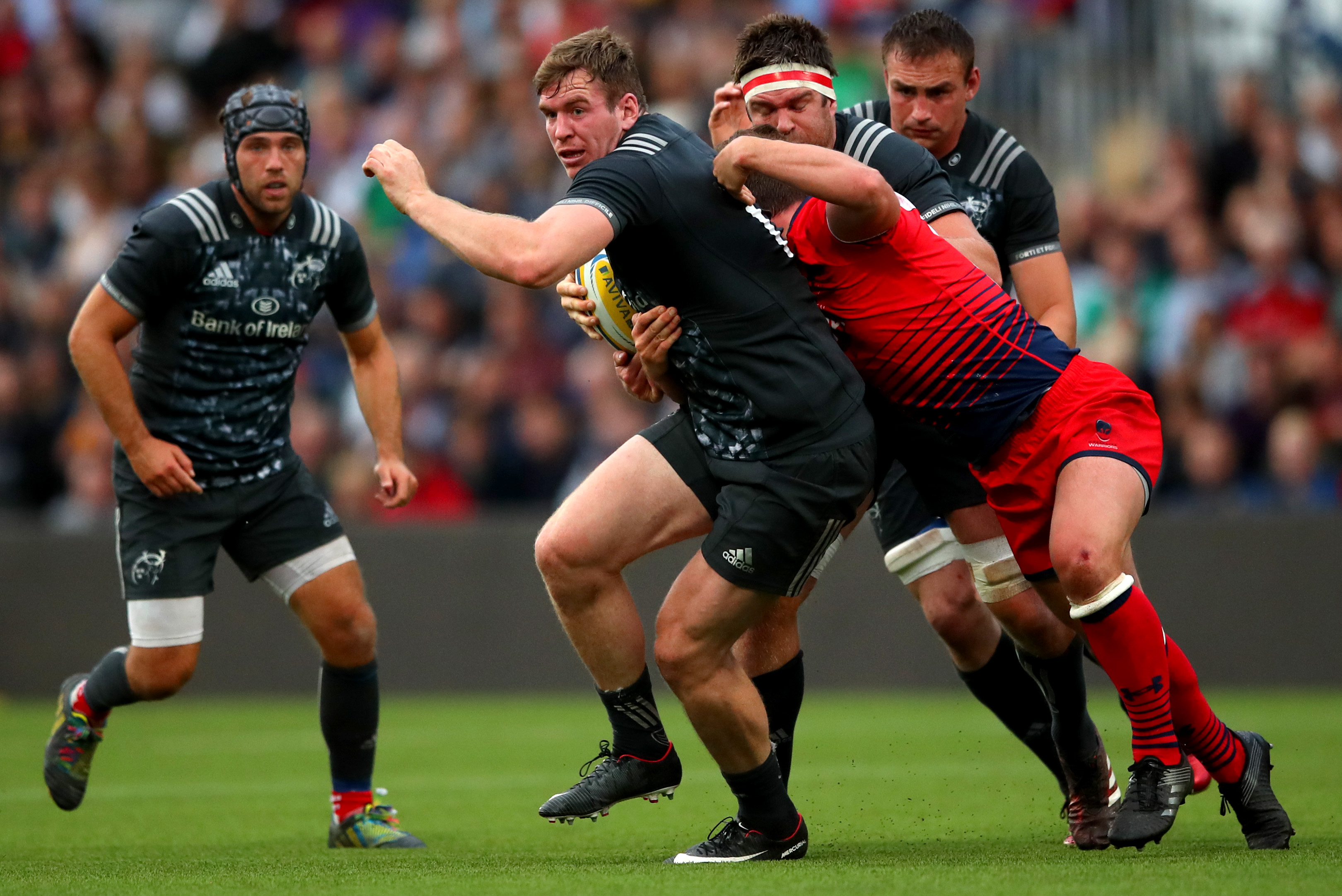 Chris Farrell will make his competitive debut for Munster tomorrow night.