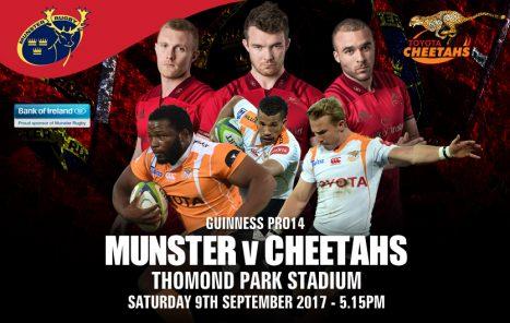 Ticket & Matchday Info   Munster v Cheetahs