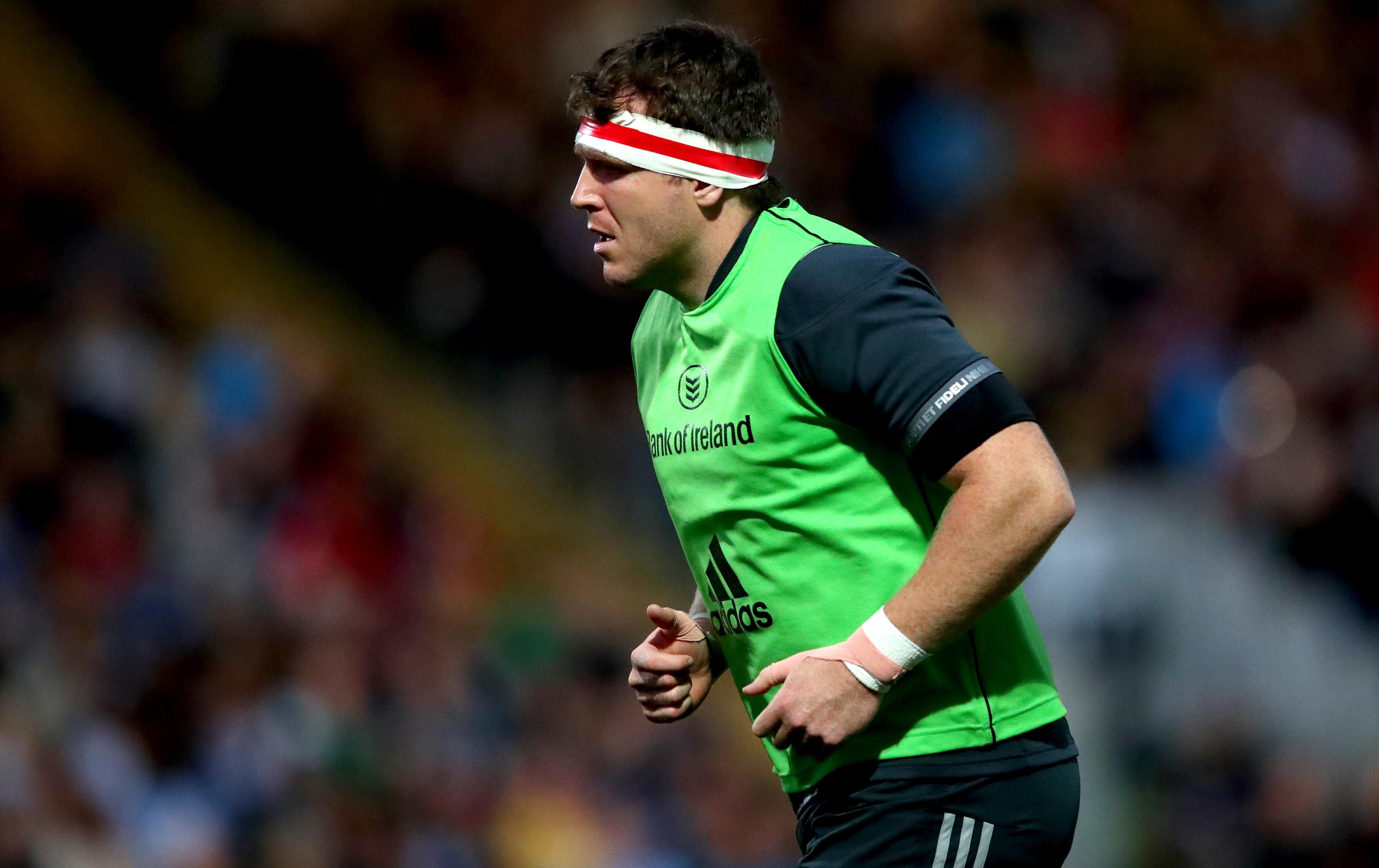 Munster hooker Mike Sherry.