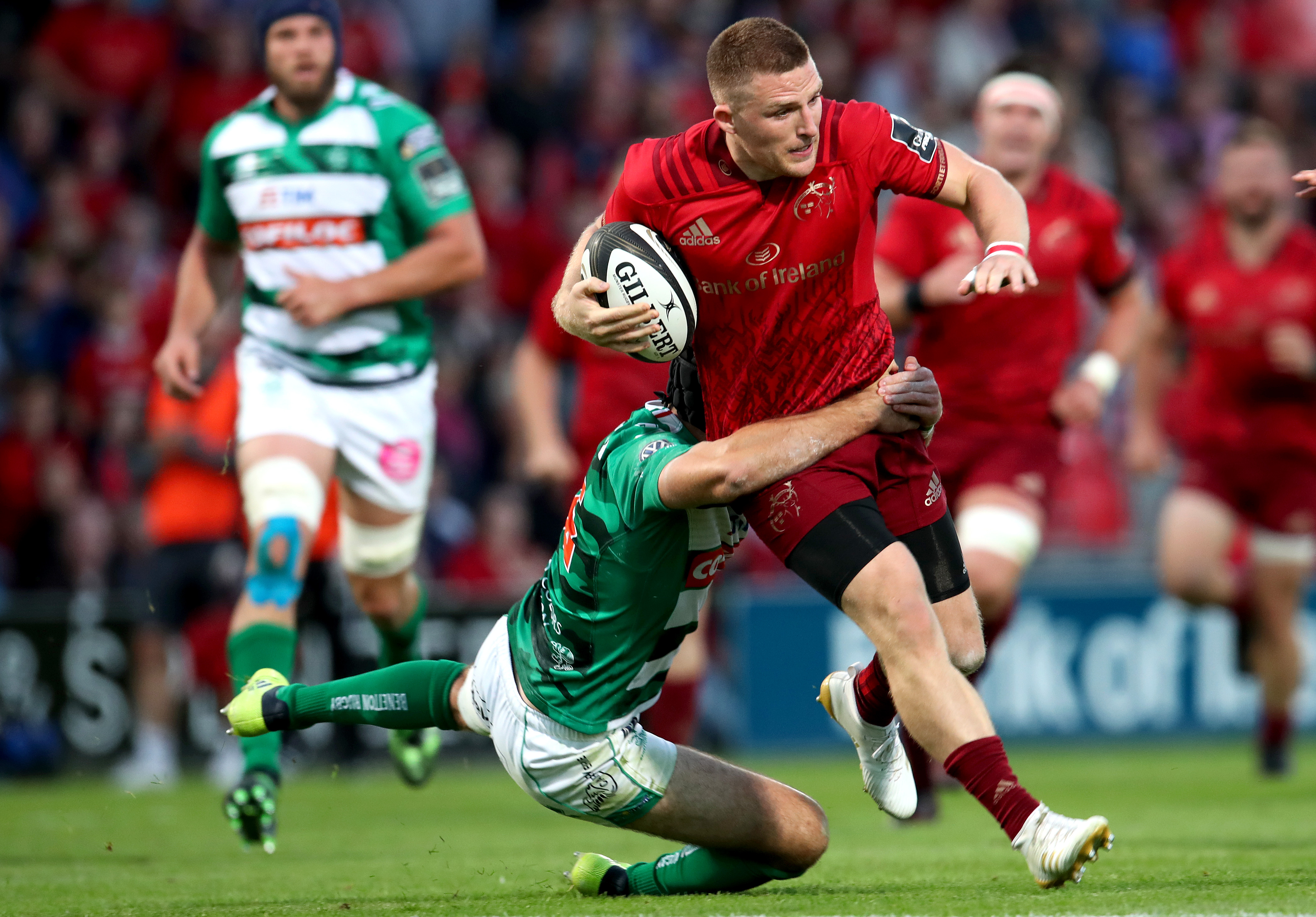 Andrew Conway will make his 100th PRO14 appearance this weekend.