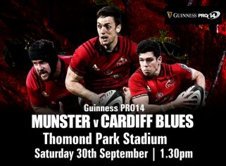 Ticket & Matchday Info | Munster v Cardiff Blues