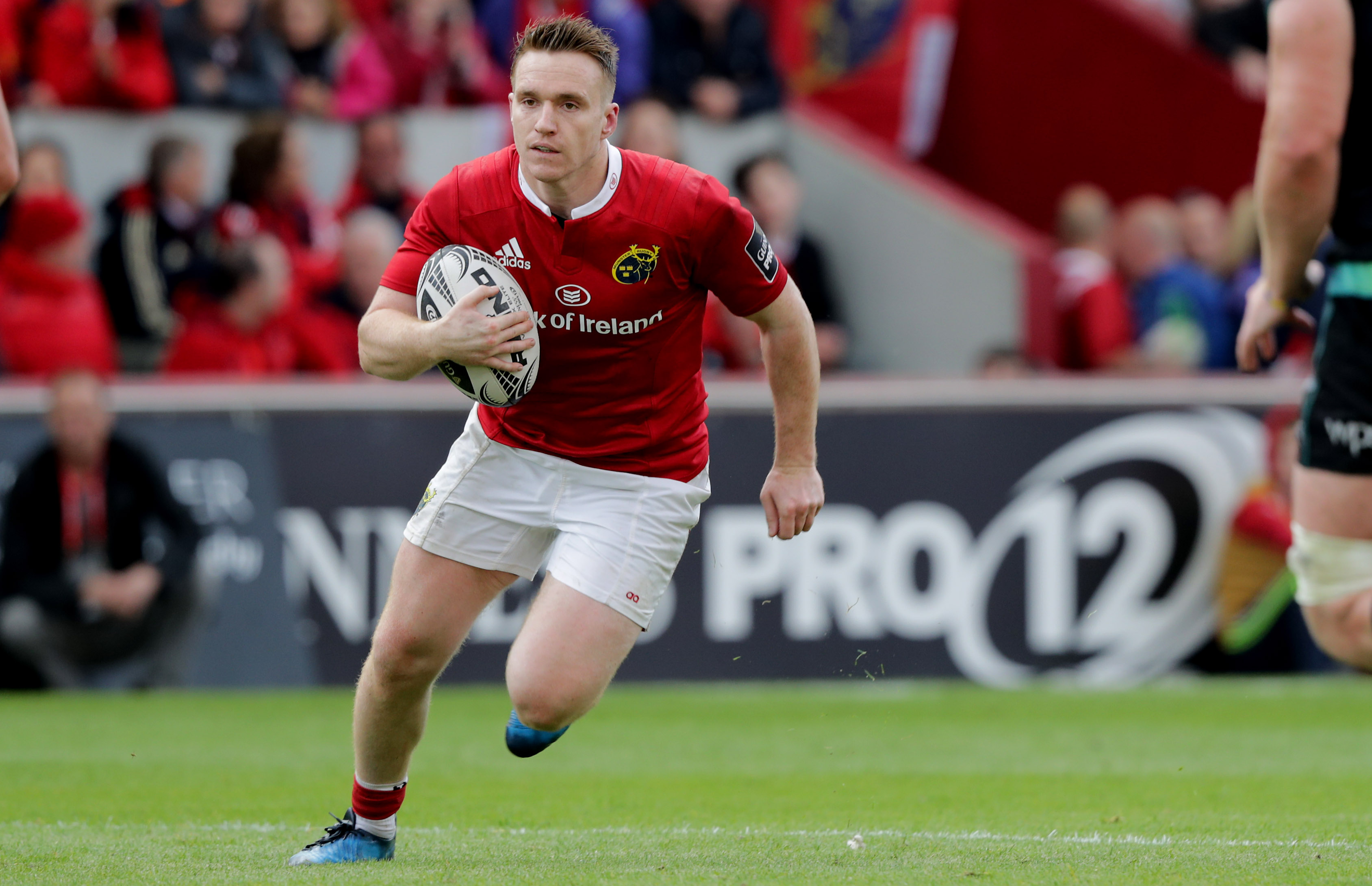 Rory Scannell will make his first start of the season for Munster tomorrow night.