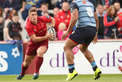 Ian Keatley in action against the Cardiff Blues.