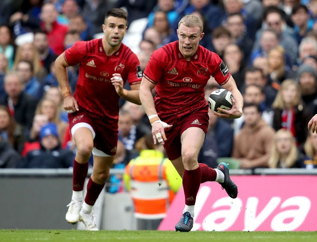 Keith Earls makes his seasonal debut against Leinster at the Aviva.