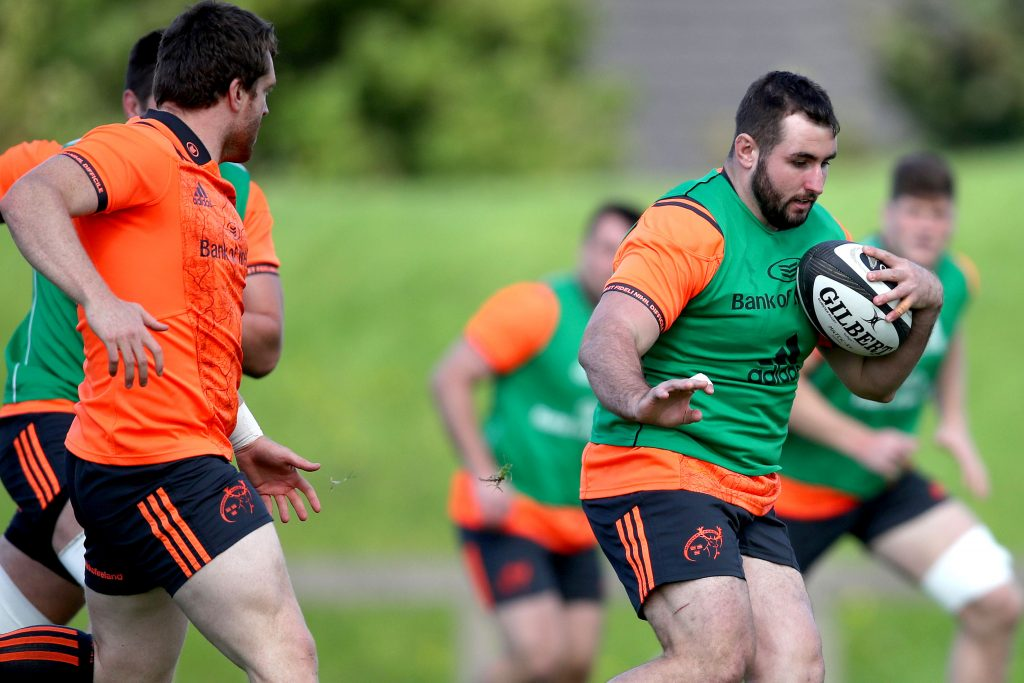 Munster prop James Cronin.