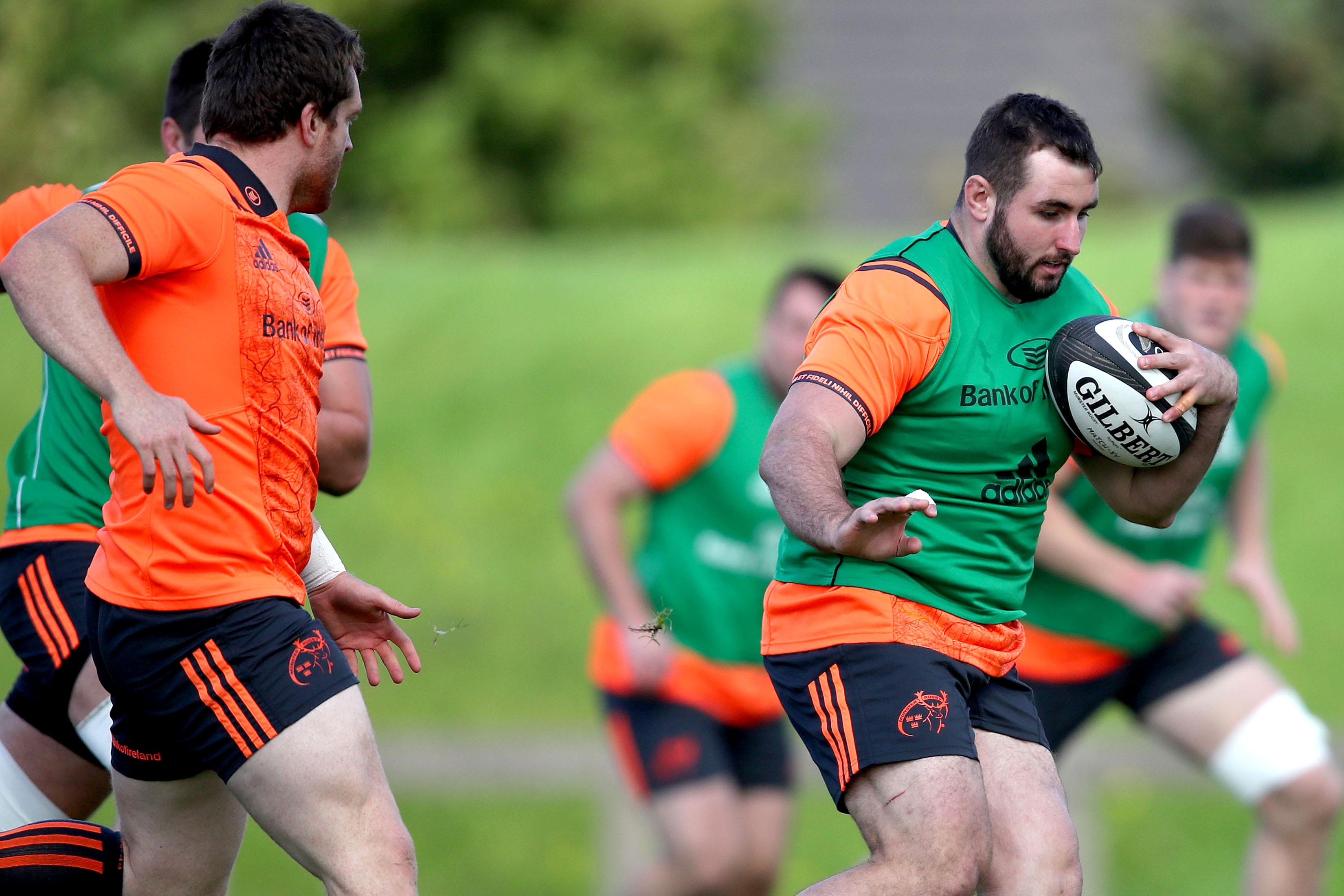 Munster prop James Cronin.