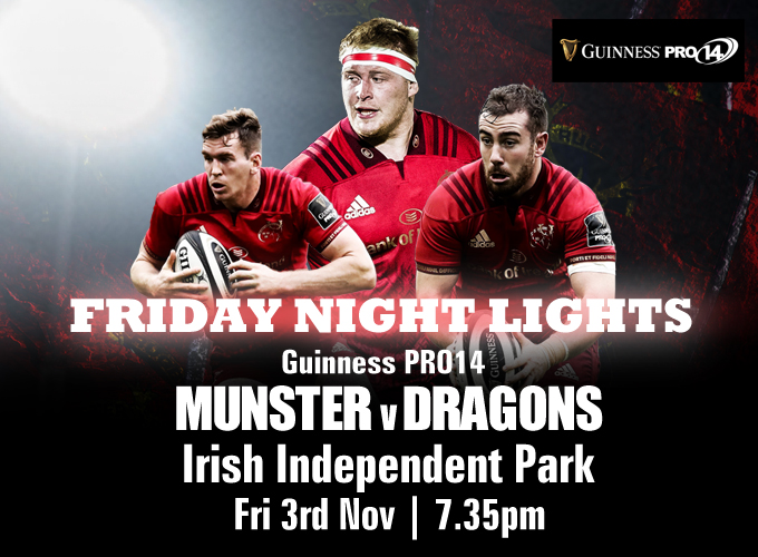 fc165f0821a Munster Rugby | Dragons Next in Cork