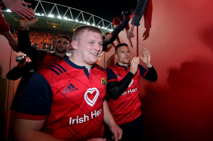 John Ryan and Andrew Conway both start against Connacht.