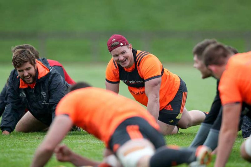 Gallery: Munster Training Pre-Dragons