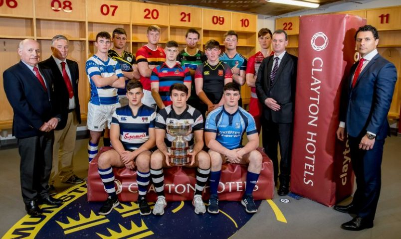 Clayton Hotels Munster Schools Senior & Junior Cup Draw