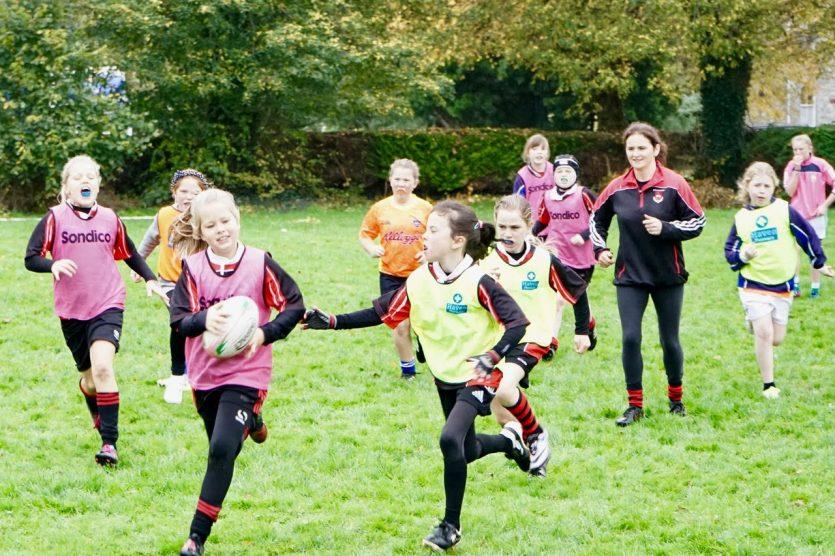 Killarney RFC growing women's rugby