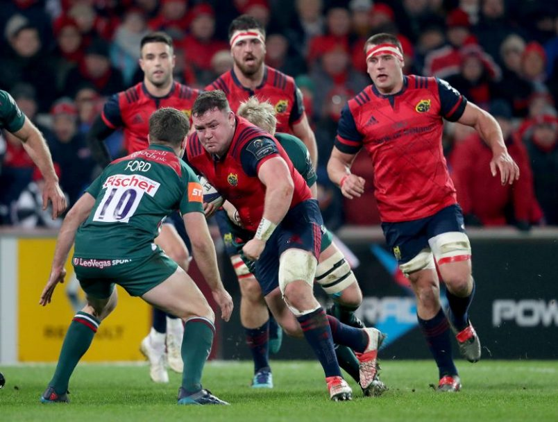 Munster Team Named For Trip To Racing