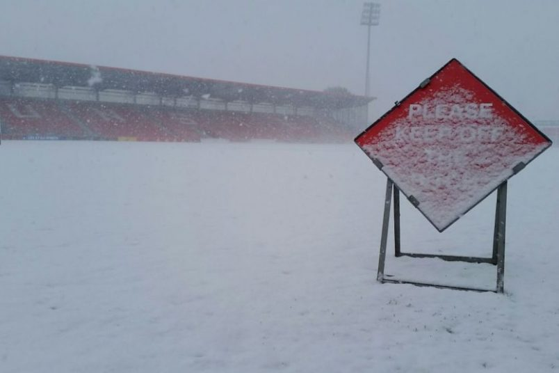 Irish Independent Park and Thomond Park are closed today and tomorrow.