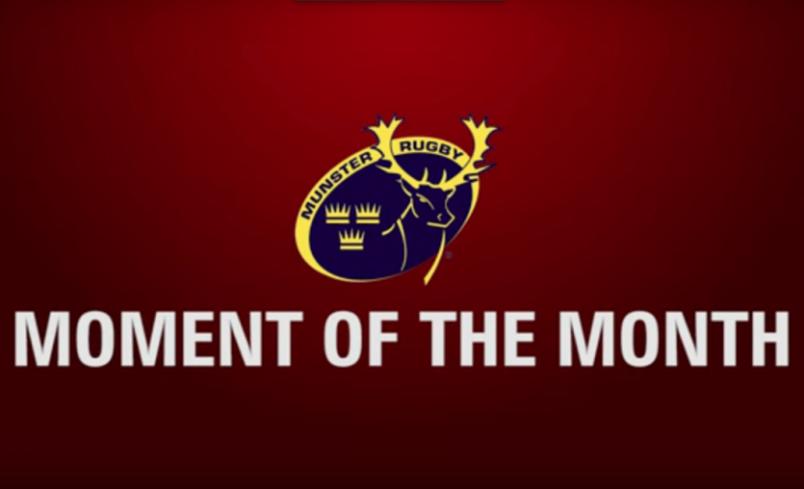 Midleton's Farnham Wins Munster Moment Of The Month