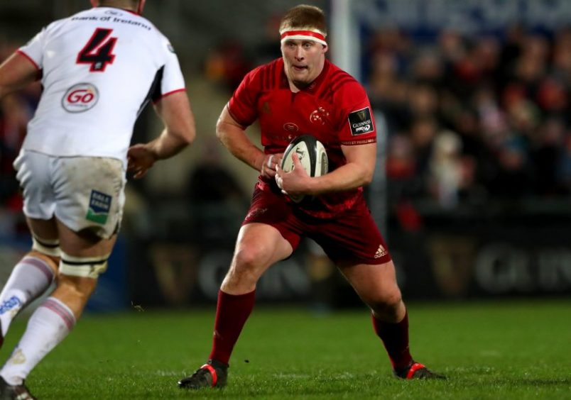 John Ryan in action against Ulster back in January