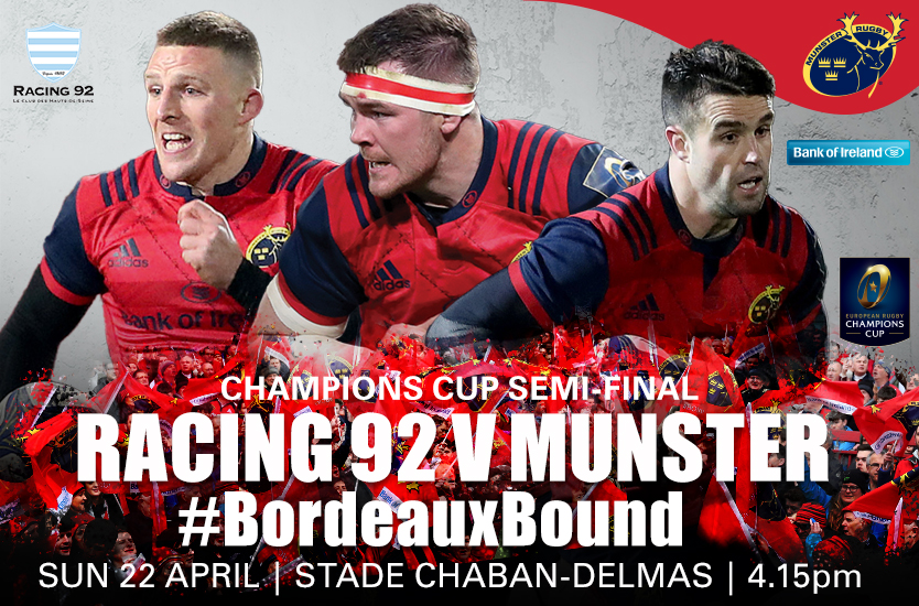 Defeat For Munster In The Champions Cup Semi Finals