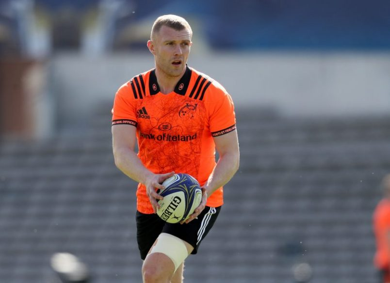 Video & Gallery | Keith Earls Interview & Captain's Run