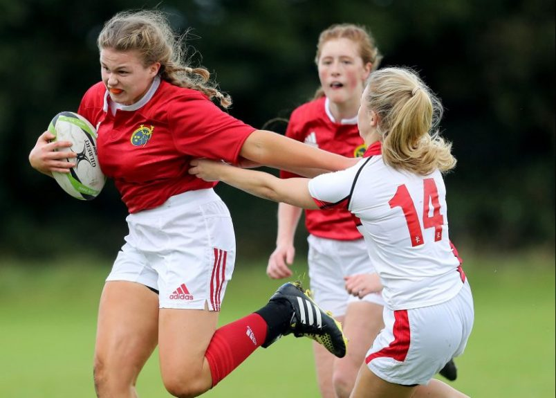 Two Munster Players In Ireland Women's U18 Sevens Squad