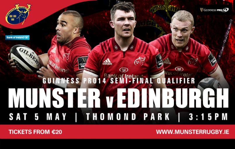 Munster v Edinburgh | Kids Go Free