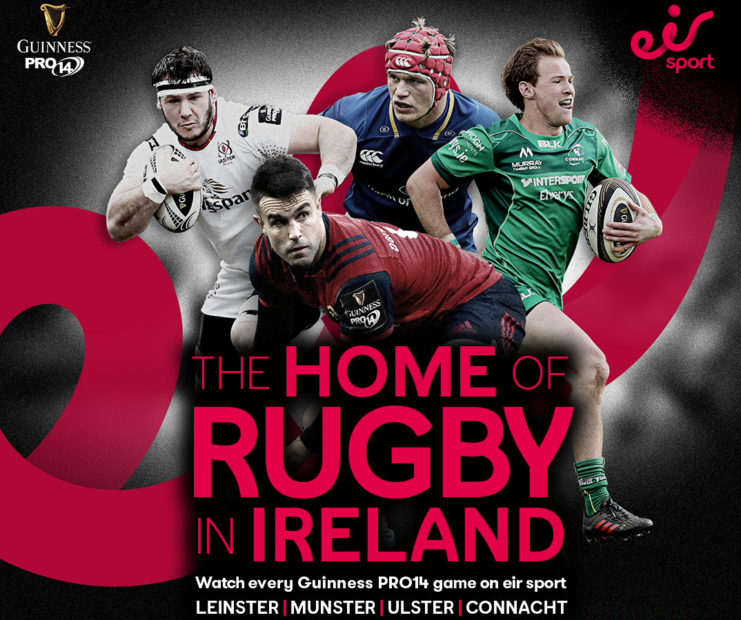 081f2f9d0e949 Munster Rugby | Eir Sport Secure Guinness PRO14 Broadcast Rights