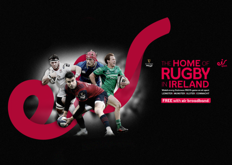 Eir Sport Secure Guinness PRO14 Broadcast Rights