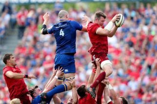Munster face Leinster at the RDS.