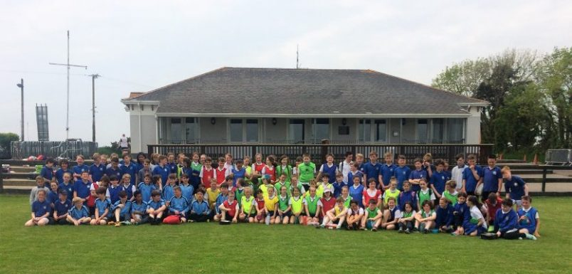 Kinsale RFC Host Primary School Blitz