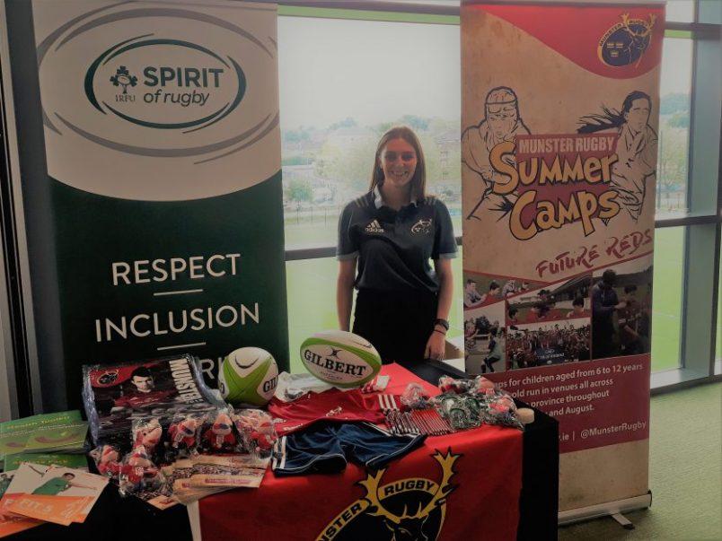 Munster Development Attend Bank Of Ireland Family & Sports Event