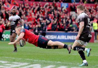 Munster Try of the Season   Andrew Conway v Toulon